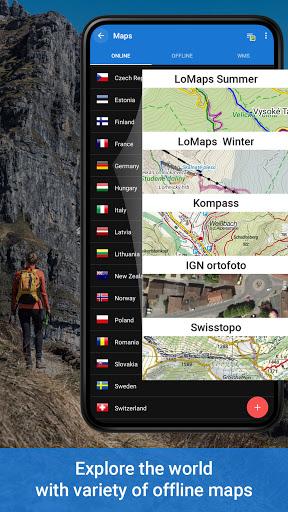 Locus Map 4: Hiking&Biking GPS navigation and Maps screenshot 1
