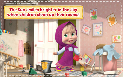 Masha and the Bear: House Cleaning Games for Girls screenshot 19