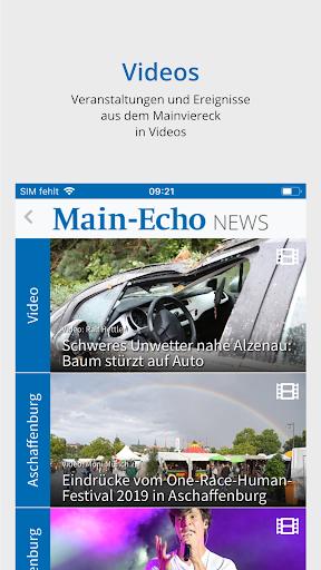 Main-Echo NEWS 5 تصوير الشاشة