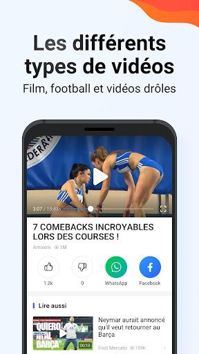 Phoenix Browser - Télécharger vidéo, privé, rapide screenshot 3