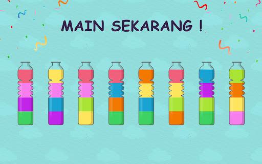 Water Sort Puz: Game Menyortir Puzzle Warna Cair screenshot 13