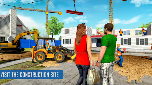 New Family House Builder Happy Family Simulator screenshot 4