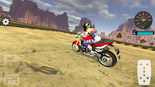 Fast Motorcycle Driver Extreme 5 تصوير الشاشة