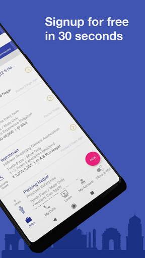 WorkIndia Job Search App - Free HR contact direct screenshot 2