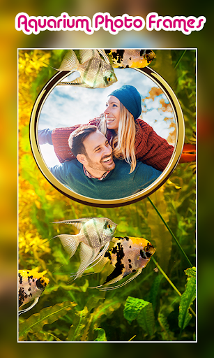 Aquarium Photo Frames 7 تصوير الشاشة