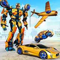 Transmute Robot Superhero on 9Apps