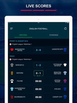 English League Scores स्क्रीनशॉट 6