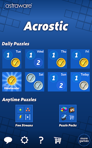 Astraware Acrostic screenshot 7
