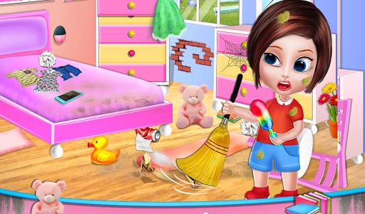 تنظيف المنزل - تنظيف المنزل لعبة بنات 9 تصوير الشاشة