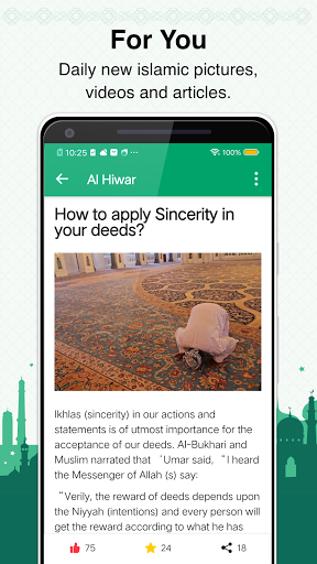 Muslim Prayer Times, Azan, Quran&Qibla By Vmuslim screenshot 7