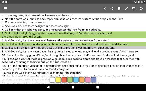 Bible Offline App Free   Audio, KJV, Daily Verse скриншот 11