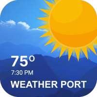 Weather Forecast & Live Radar Maps: Weather Port on APKTom
