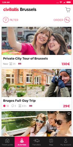 Brussels Guide by Civitatis screenshot 3