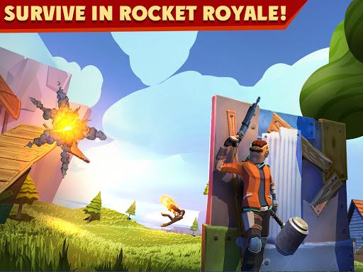 Rocket Royale screenshot 1