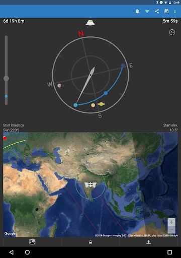 ISS Detector كاشف محطة الفضاء الدولية 12 تصوير الشاشة