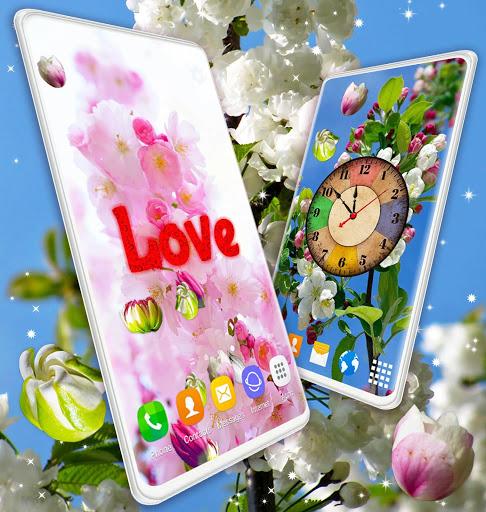 Cherry Blossom Live Wallpaper 🌸 Spring Wallpaper screenshot 7