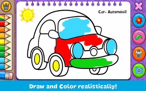 Coloring & Learn screenshot 1
