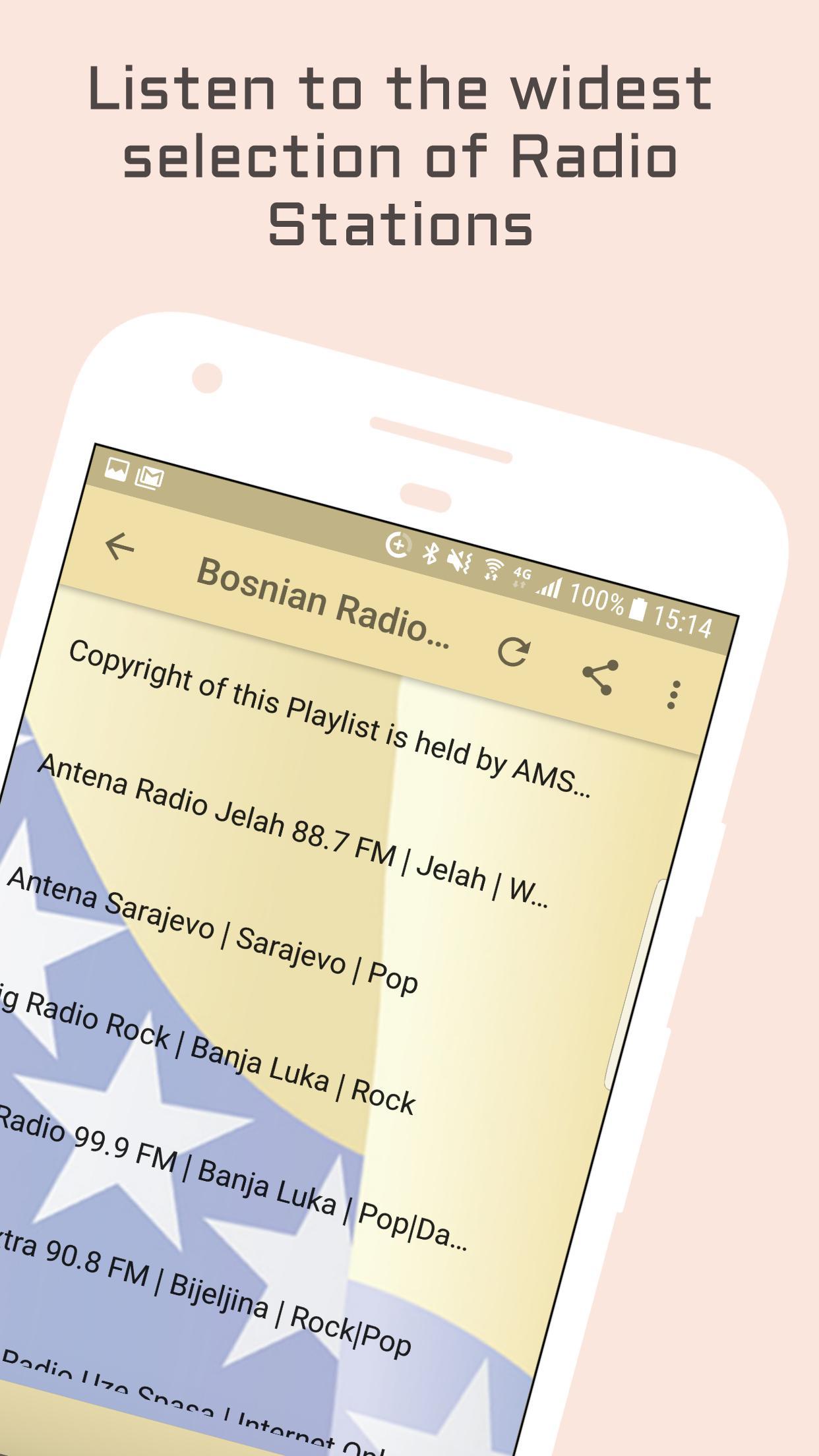 Bosnia Radio Music & News 2 تصوير الشاشة