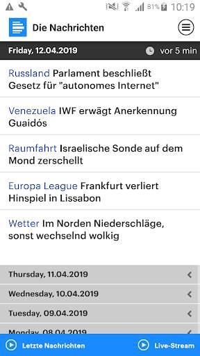 Dlf - Die Nachrichten screenshot 7