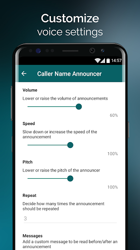 Caller Name Announcer – with Caller ID screenshot 6