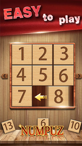 Numpuz: Classic Number Games, Free Riddle Puzzle 1 تصوير الشاشة