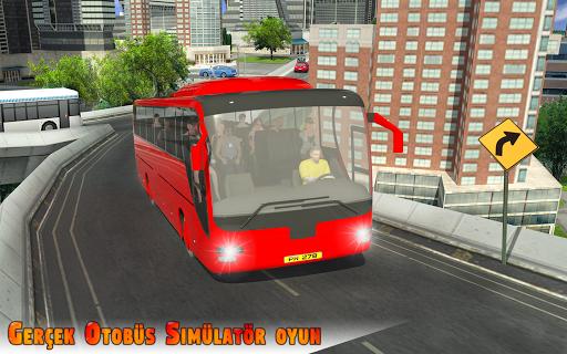 Şehir Otobüs Simülatör 3 BOYUTLU - bağımlılık oyun screenshot 1
