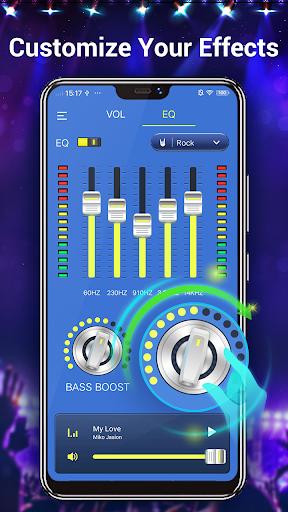 Efek musik Equalizer-Audio screenshot 3