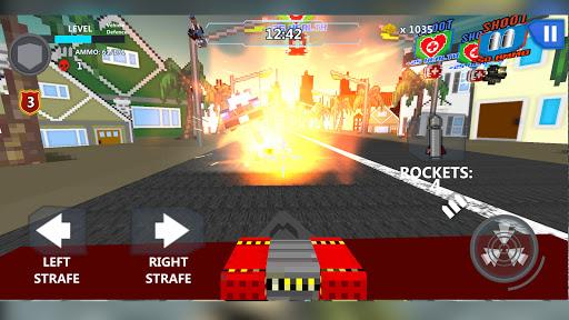 Cube Wars Battle Survival 5 تصوير الشاشة