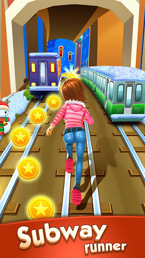 Subway Princess Runner скриншот 1