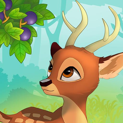 Animal Village-forest zoo & pet evolution games 🦌 icon
