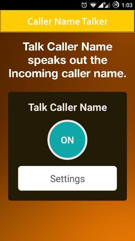 Caller Name Talker  Advance screenshot 2