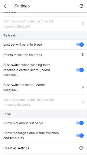Volleyball Score Simple screenshot 4