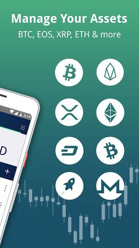 Edge - Bitcoin, Ethereum, Monero, Ripple Wallet 2 تصوير الشاشة
