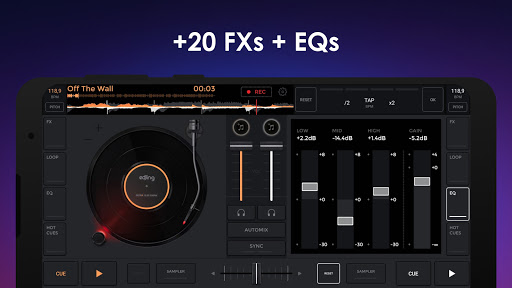 edjing Mix - Free Music DJ app screenshot 4