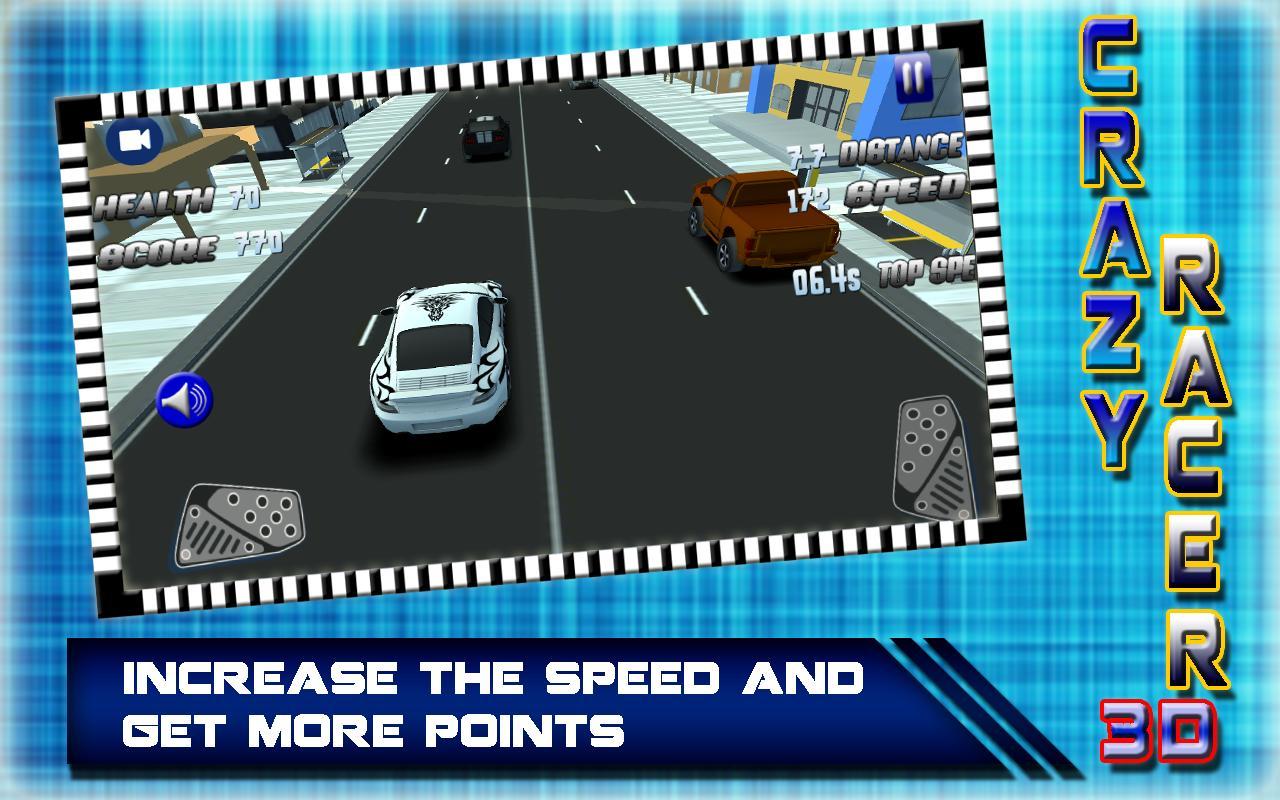 Crazy Car Racing 3D 2017: Rush Hero Driver screenshot 7