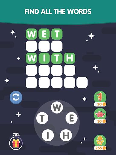 Word Search Sea: Unscramble words स्क्रीनशॉट 10