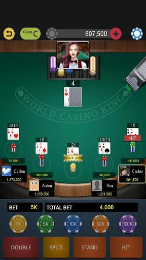 العالم لعبة ورق الملك 1 تصوير الشاشة