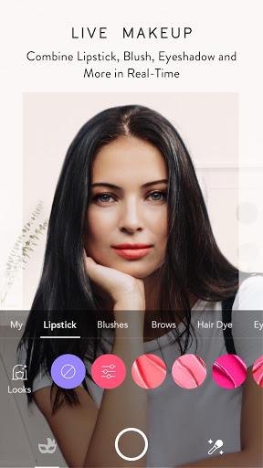 MakeupPlus - كاميرا المكياج 1 تصوير الشاشة