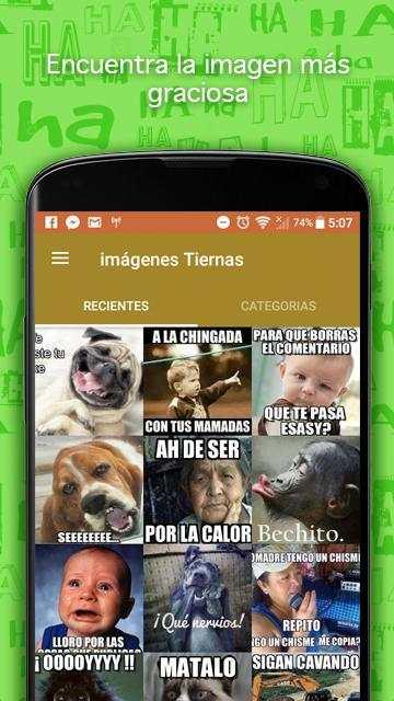 Imágenes screenshot 4