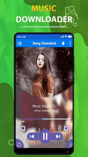 MP3 song downloader - Download free music स्क्रीनशॉट 3