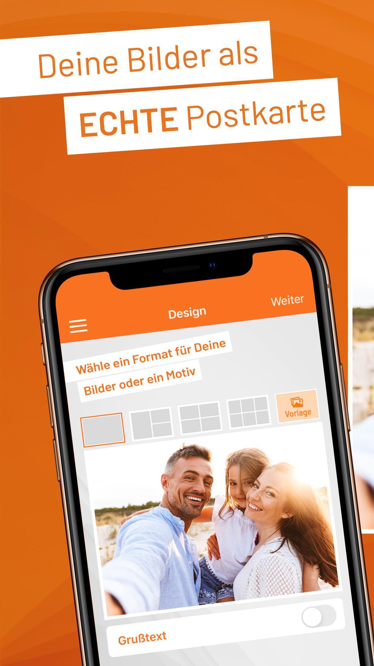Postando - Postcard App & Photo Greeting Cards App screenshot 1