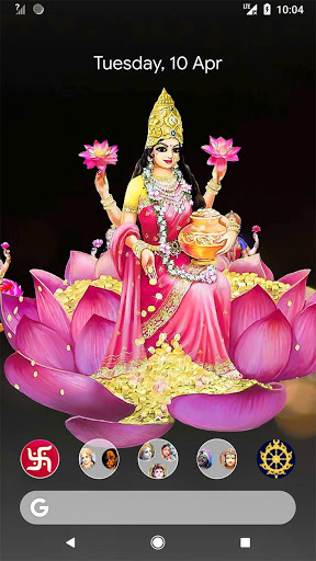 4D Lakshmi Live Wallpaper 9 تصوير الشاشة