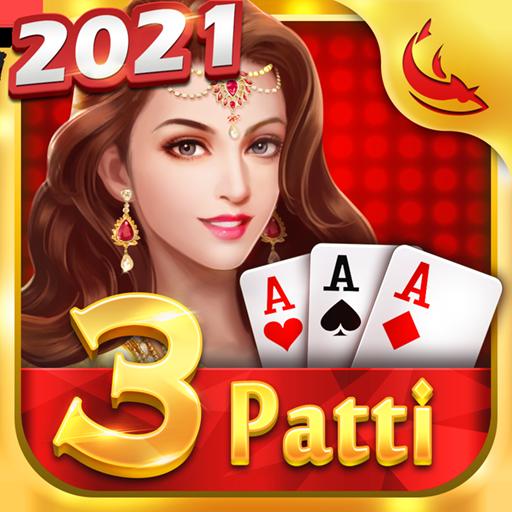 Teen Patti Comfun-Indian 3 Patti Card Game Online أيقونة