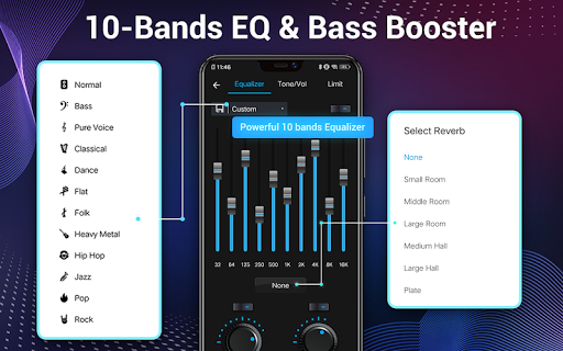 Music Player - Audio Player & 10 Bands Equalizer screenshot 12