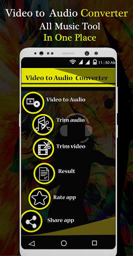Video To Audio Converter - Mp3 Converter screenshot 1