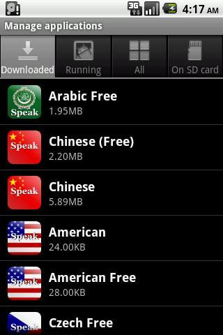 Speak Arabic Free 3 تصوير الشاشة