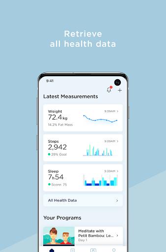Withings Health Mate screenshot 3