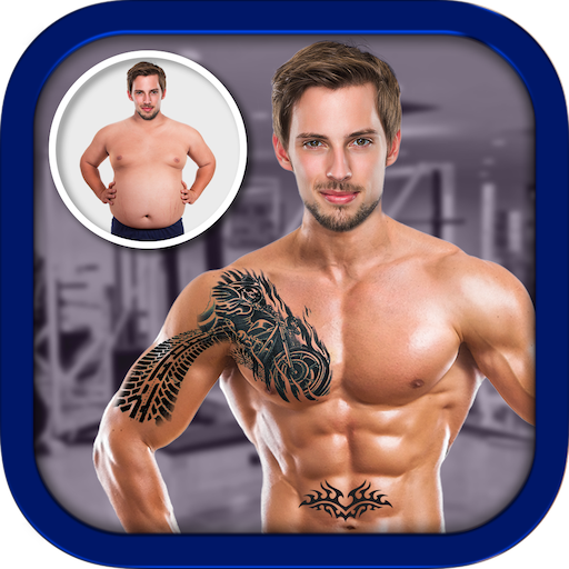 Men Body Styles SixPack tattoo - Photo Editor app icon