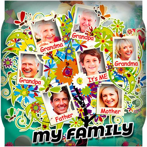 Family Photo Frames - Collage Editor icon