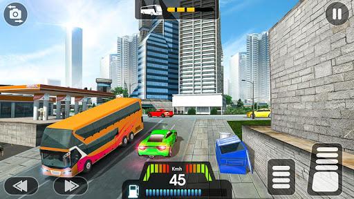 City Coach Bus Simulator 2021 - PvP Free Bus Games screenshot 2